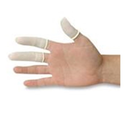 FINGER COTS SIZE 2 LATEX P/FREE PACK OF 100