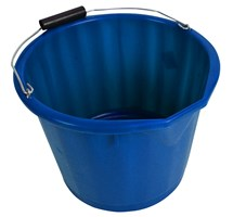 BUCKET ULTRA LUCY 15LTR WITHOUT LID BLUE X1