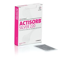 ACTISORB SILVER 220 DRESSING 9.5 X 6.5CM X 10