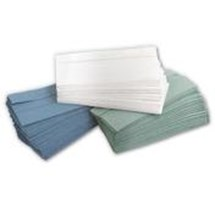 PAPER TOWEL C/FOLD GREEN 1 PLY X 2688