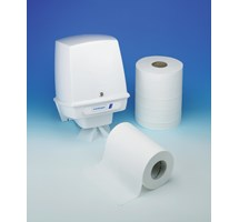 PAPER TOWEL CENTRE FEED  MINI 1 PLY WHITE X 12