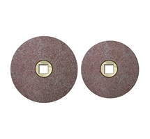 DISCS POLISHING (KEMDENT) TYPE B 22MM CLIP-ON COARSE X 1 BOX
