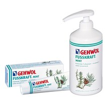 GEHWOL FUSSKRAFT MINT X 500ML WITH PUMP DISPENSER (PROFESSIONAL USE ONLY)