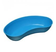 "KIDNEY DISH PLASTIC (BLUE) 12"" 1500MLS  (REUSABLE AUTOCLAVABLE) X 1"