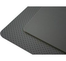 PORON STANDARD GREY 137CM X 100CM X 1.6MM PERFORATED