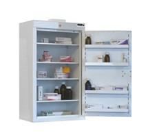 CABINET CONTROLLED DRUGS (1 DOOR) 85X50X30CM (4 SHELVES) NO WARNING LIGHT
