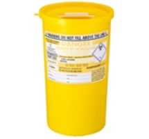 SHARPS BIN+LID 5LTR YELLOW