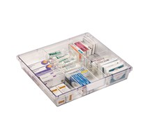 TRAY DIVIDER (SUNFLOWER) WIDE DOUBLE DEPTH VISTA TROLLEY