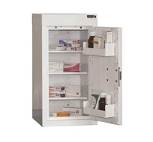 CABINET MEDICINE (SINGLE DOOR) 60X30X30CM (3 SHELVES) NO WARNING LIGHT