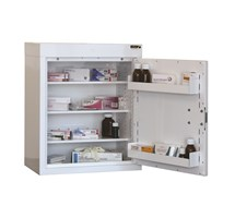 CABINET MEDICINE (SINGLE DOOR) 60X50X30CM (3 SHELVES) NO WARNING LIGHT