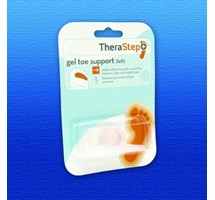 THERASTEP GEL TOE SUPPORT LEFT ONE SIZE (SILIPOS) X 1
