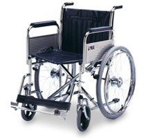 WHEELCHAIR SELF PROPELLING/ FOLDING MAX WEIGHT 115KG