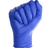 GLOVE NITRILE POWDER FREE BLUE MEDIUM X 200