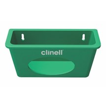 DISPENSER FOR CLINELL UNIVERSAL WIPES (WALL MOUNTED) GREEN  X 1