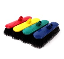 "BROOM HEAD HARD (COLOUR CODED) 10.5"" BLUE X 1"