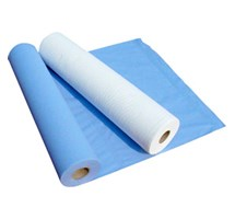 "COUCH / BED ROLL 2 PLY BLUE 20"" X 12 100 SHEET (BH50)"