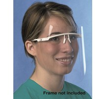 FACE SHIELD UNOTECT+ (UNODENT) REFILL DISPOSABLE X 12