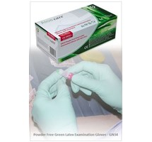 GLOVE LATEX (POWDER FREE) MEDIUM HANDSAFE BRAND X100